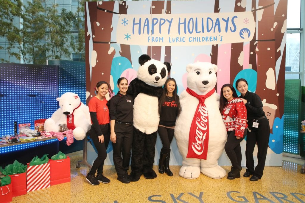Coca-Cola and Panda Express at Lurie Children's